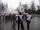 Dni Protestów Pracowniczych - Warszawa 18.12.2008r.