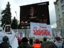 Manifestacja ws. referendum - Warszawa 30.03.2012r.