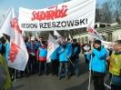 Pikieta przed ambasadą Rosji - Warszawa 09.03.2014r.