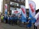 Pikieta przed firmą Lear Corporation II - Jarosław 10.07.2013r.