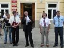 Pikieta przed Urzędem Miejskim - Przemyśl 26.06.2008r.