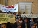 Pikieta w UM - Przemyśl 26.02.2009r.