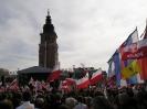 Pożegnanie Pary Prezydenckiej - Kraków 18.04.2010r.