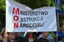 Protest przed MON - Warszawa 24.06.2015r.