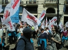 Protest przed pałacem prezydenckim - Warszawa 24.05.2012r.