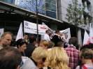 Protest przed siedzibą TPSA - Warszawa 22.06.2010r.