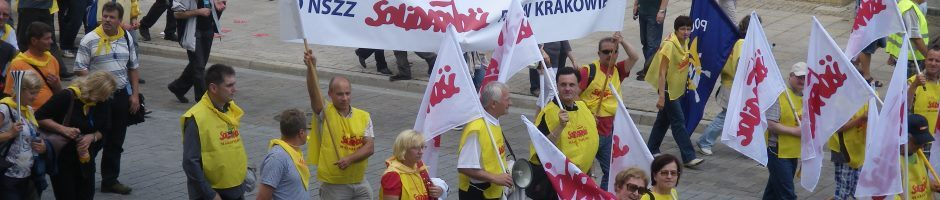 """OMPT NSZZ """"Solidarność"""" KO w Krakowie"""